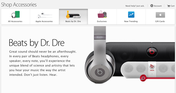 Apple offering 10 percent discount on Beats by Dr. Dre products online and in-store