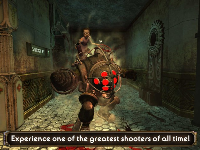 Return to Rapture with Bioshock for iOS, out now on the App Store worldwide