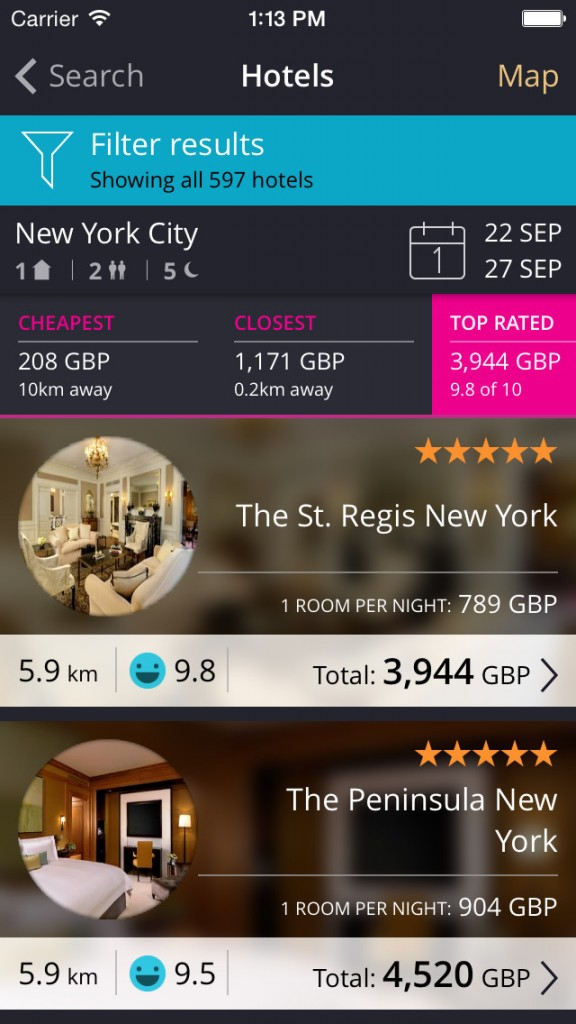Momondo for iOS goes 5.0 to offer hotel deals in addition to cheap flights