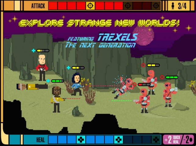 Boldly go where no iOS gamer has gone before with Star Trek Trexels