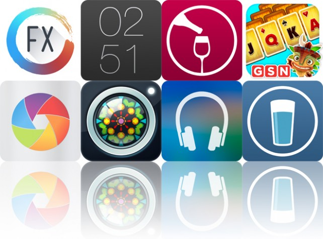 Todays apps gone free: Paint FX, Work Time, Winery Passport and more