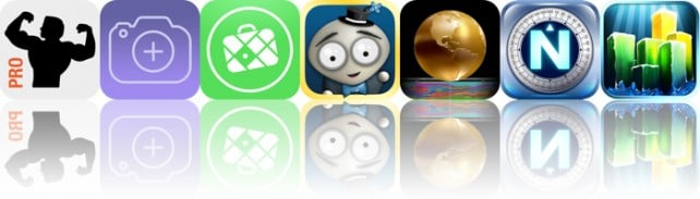 Todays apps gone free: Fitness Point Pro, Photo Fuze, MAPS.ME and more