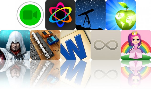 Todays apps gone free: Sports Cam, Atomus, StarTracker and more