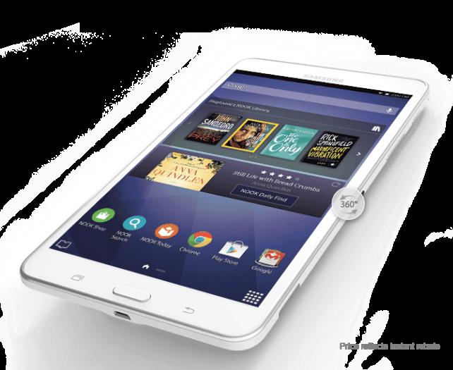Barnes & Noble unveils the Galaxy Tab 4 NOOK tablet
