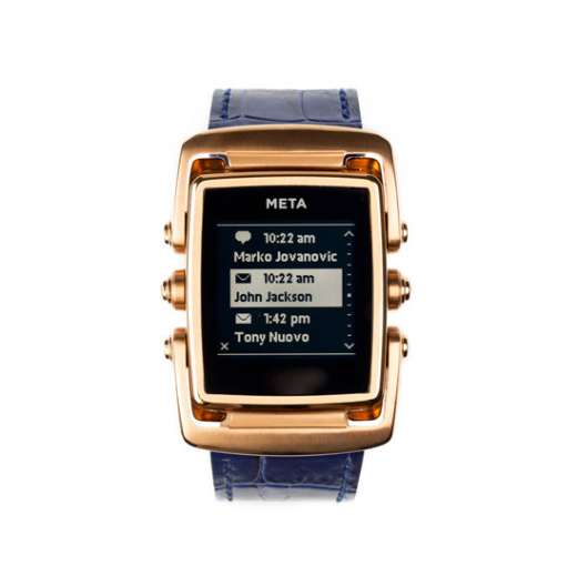 If you cant wait for Apples 'iWatch,' take a look at the premium Meta M1