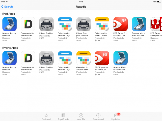 Readdle updates its apps for iOS 8 with support for iCloud Drive, Extensions and more