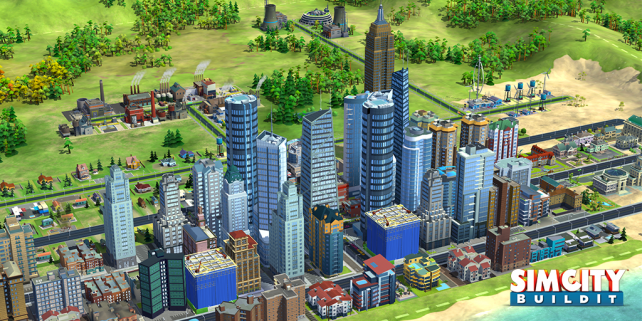 If You Can Dream It You Can Build It Electronic Arts Unveils Simcity Buildit For Ios