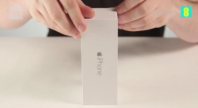Check out the first unboxing video of Apple's iPhone 6