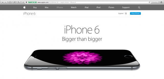 Apple set to launch iPhone 6 and iPhone 6 Plus in India on Oct. 17