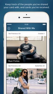 About.me launches new Intro app for sharing digital business cards