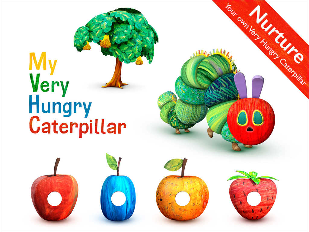 shelf control my very hungry caterpillar is a fun app. Black Bedroom Furniture Sets. Home Design Ideas
