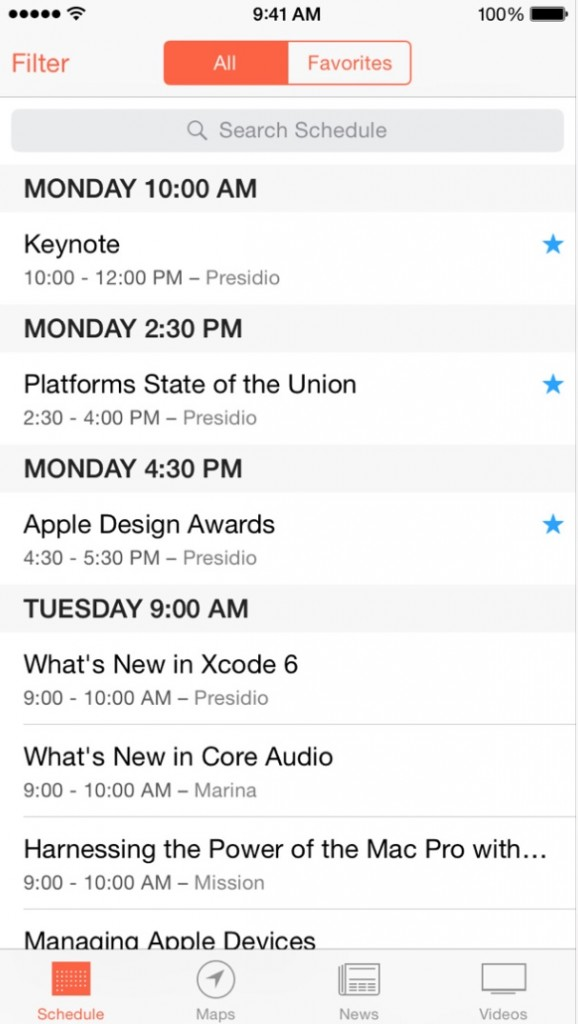 Apple updates WWDC app with support for iOS 8, iPhone 6 and iPhone 6 Plus