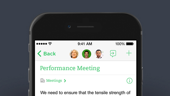 Evernote iOS app update offers a new work chat feature and more