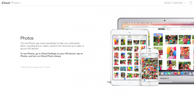 Apple's iCloud Photos app is now available on the Web but it requires iOS 8.1