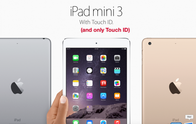 If Apple was in the World Series, they just struck out with the iPad mini 3