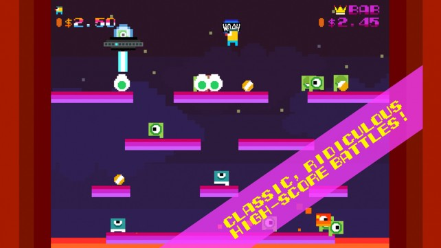 Woah Dave! is a frantic action-packed arcade game that is sure to delight