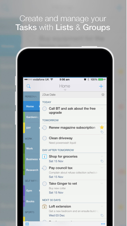 Another big 2Do update arrives with an iOS 8 Notification Center widget and more