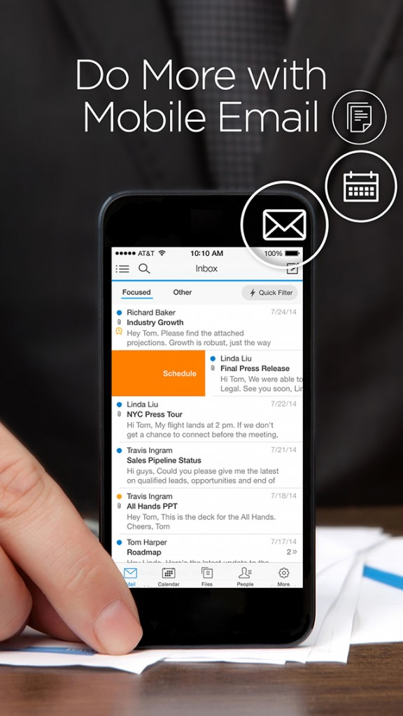 Fait accompli: Microsoft has apparently acquired the all-in-one email app Acompli
