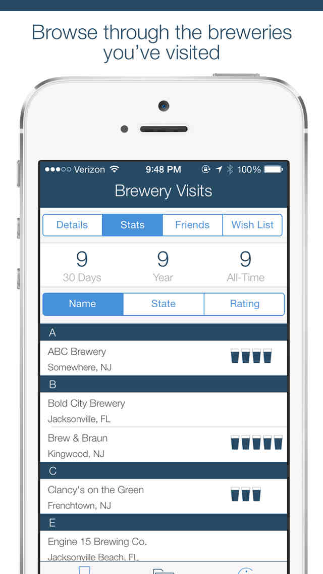 Winery and Brewery Passport apps updated with new features and improvements