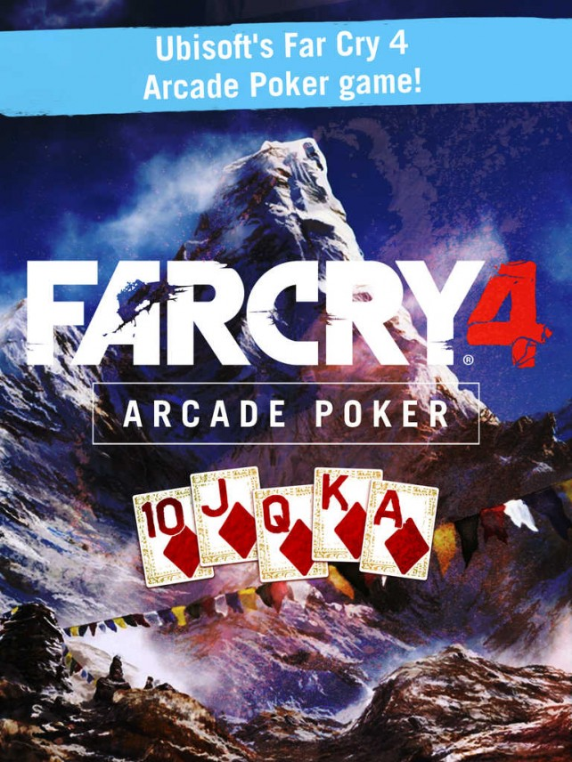 Ubisoft releases official arcade poker iOS companion app of Far Cry 4