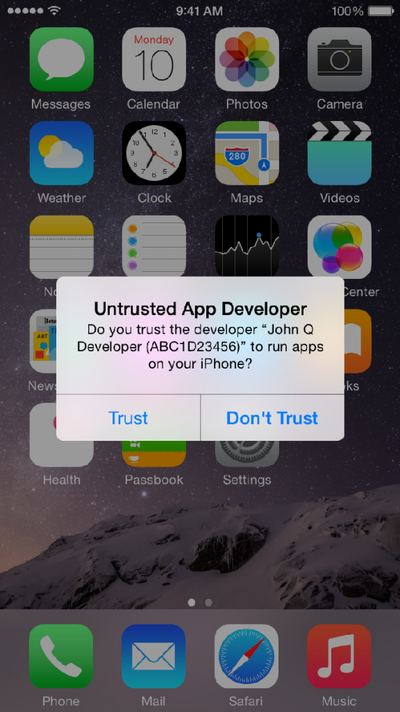 Apple responds to recently publicized 'Masque Attack' malware app issue