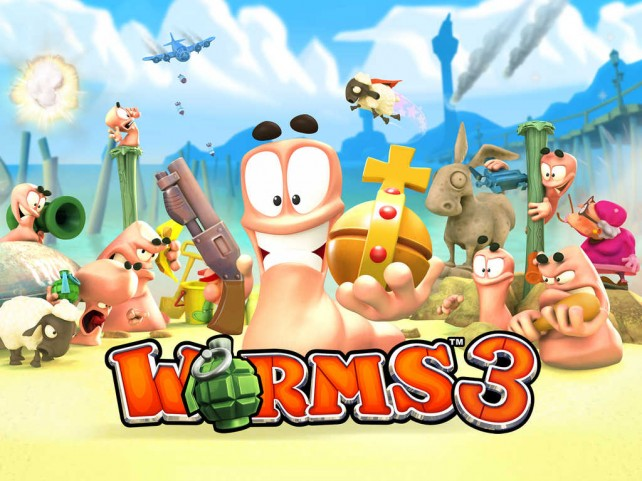 Team17′s Worms iOS games on anniversary sale for $0.99 each on the App Store