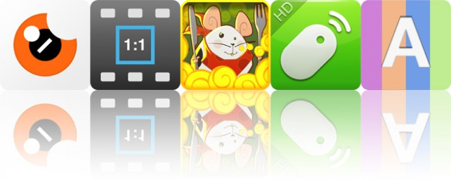 Todays apps gone free: Cyro, Square Video, From Cheese and more