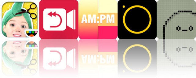 Todays apps gone free: Toca Hair Salon Me, Reverser, Coloring Clock and more
