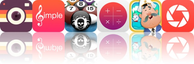 Todays apps gone free: Fx8, Simple Music, Killer Pool and more