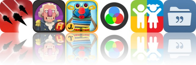 Todays apps gone free: Heavy Metal Thunder, Frontier Heroes, Puppet Workshop and more