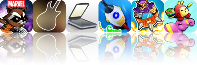 Todays apps gone free: Guardians of the Galaxy, Star Scales, TurboScan and more