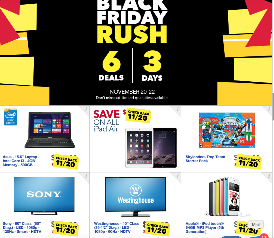 Best Buy previews Thanksgiving Day and Black Friday Deals ...