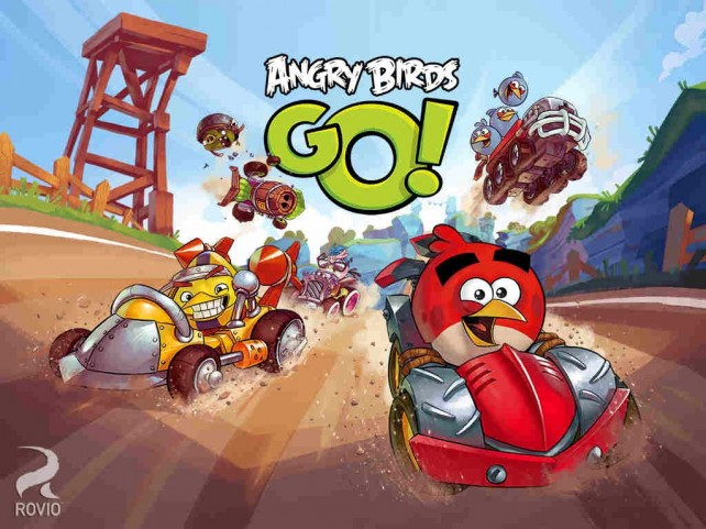 Rovio updates Angry Birds Go! kart racing game with 3-on-3 team multiplayer feature