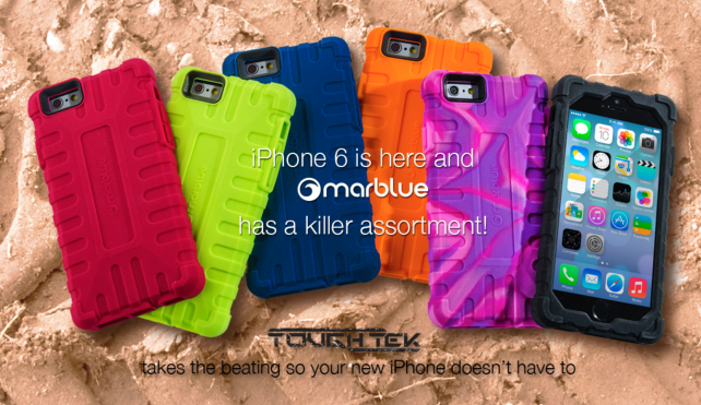 Our first look at the impressive new MarBlue cases for the iPhone 6 and a chance to win