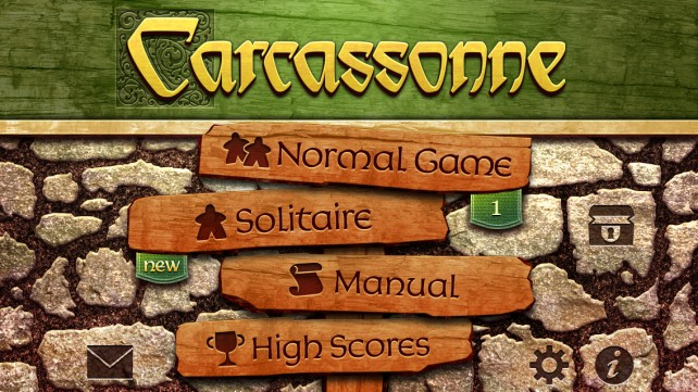 Carcassonne for iOS updated with new Winter and Double Base Tile Set expansions