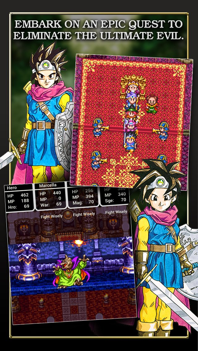 Square Enix officially releases iOS port of Dragon Quest ...