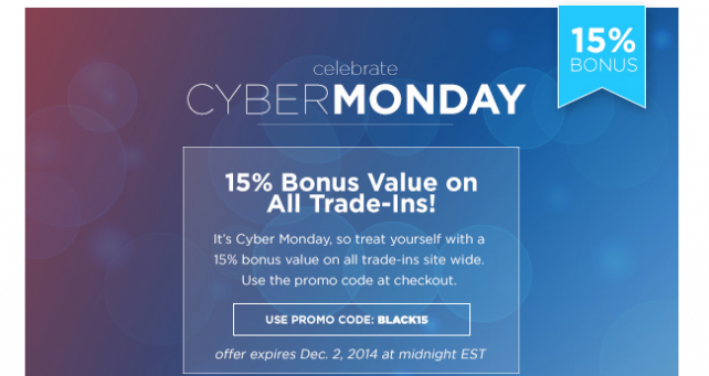 NextWorth's Cyber Monday promotion means more cash in your pocket