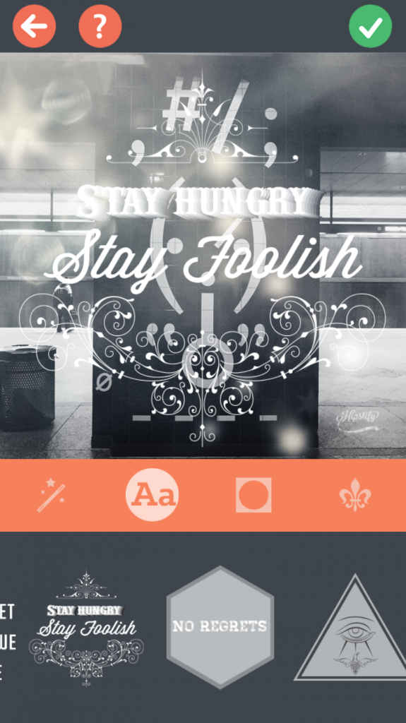 Hipstify your photos into something unique with this fun photo editing app
