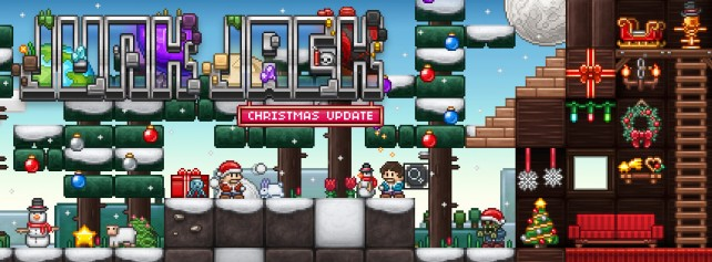 Pixbits presents huge Christmas update to popular 2-D sandbox game Junk Jack X