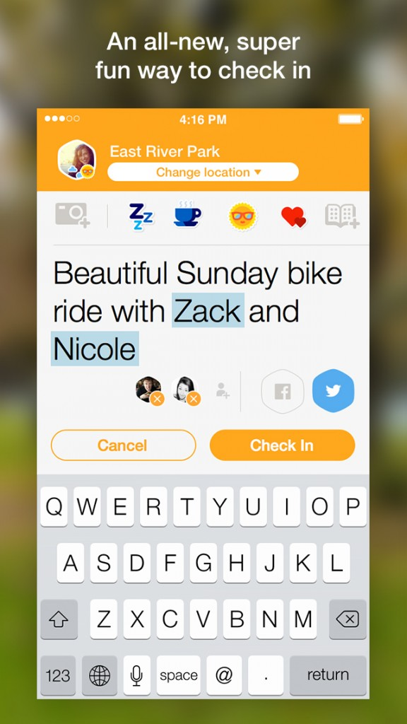 Foursquare updates Swarm check-in app with interactive notifications in iOS 8
