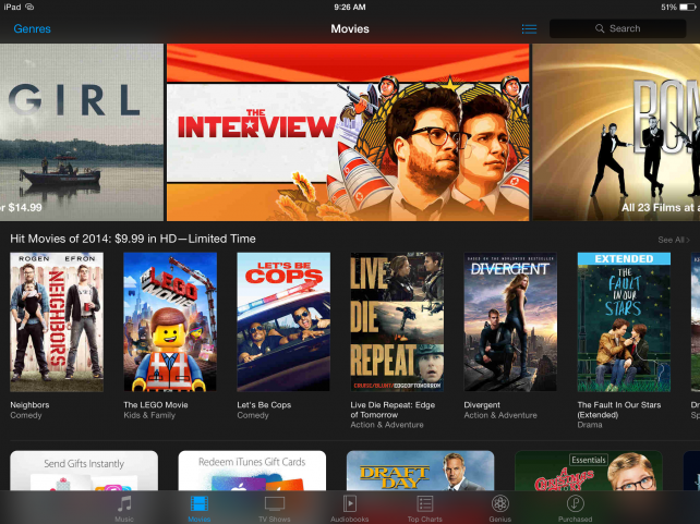 Apple now showing Sony's controversial 'The Interview' on iTunes