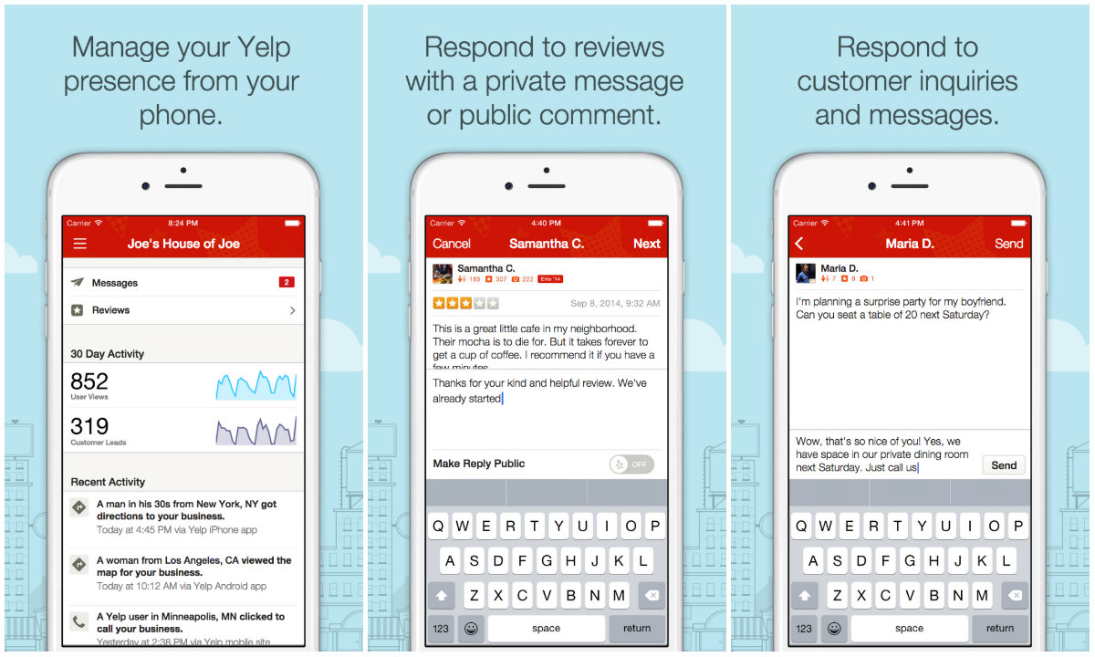 yelp business plan