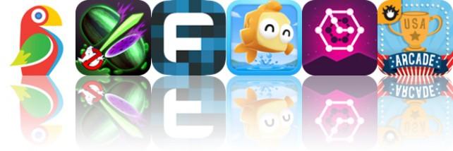 Todays apps gone free: Brushstroke, Fruit Ninja, Fixum and more
