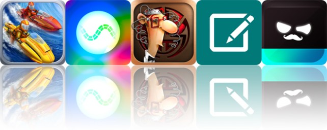 Todays apps gone free: Riptide GP2, Synesthetic, IQ Mission and more