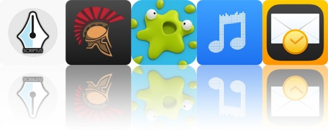 Todays apps gone free: Scriptus, Hoplite, Smack That Gugl and more