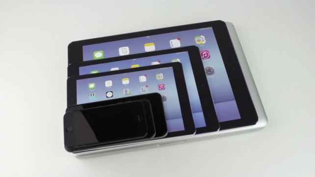 Tablet Size Compare Video Compares Size of