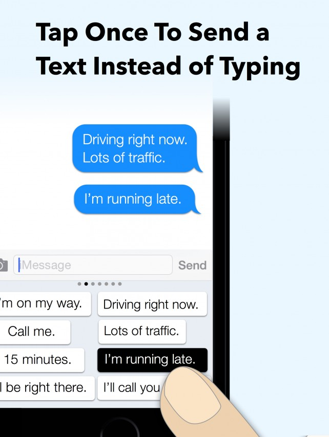 My Phrases Keyboard for iOS 8 lets you send custom messages with a single tap