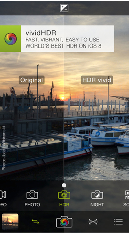 ProCamera 8 + HDR update offers an improved vividHDR mode and more