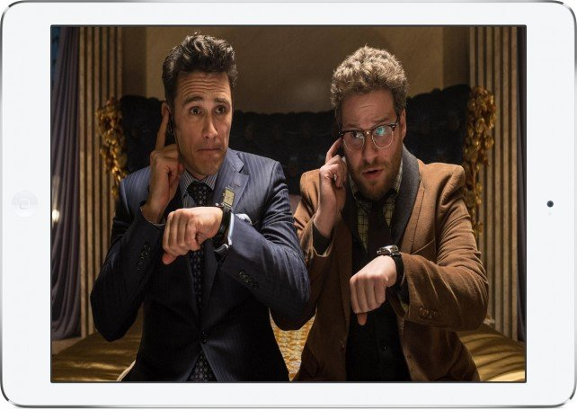 You can now watch Sony Pictures' The Interview on your iPad and other devices