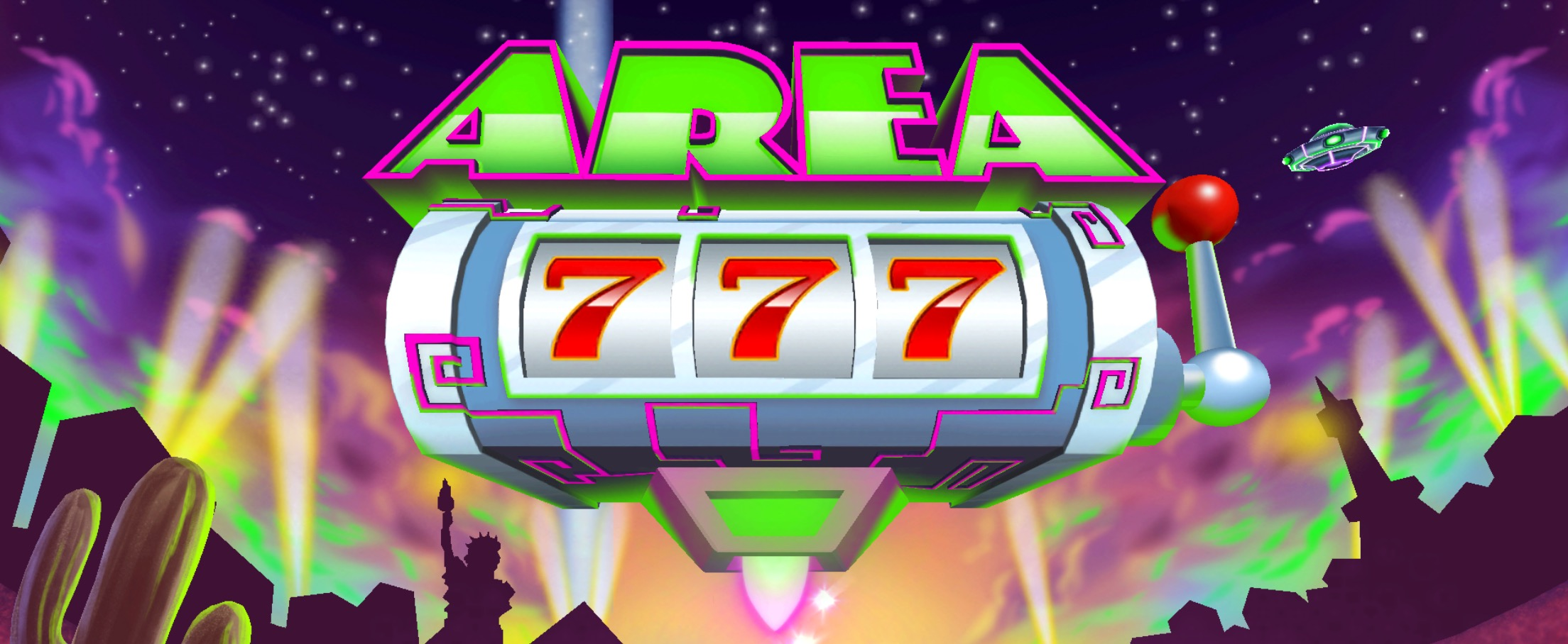 Welcome to Area 777  Adult Swim s slot machine and tower defense hybrid game  for iOS. to Area 777  Adult Swim s slot machine and tower defense hybrid